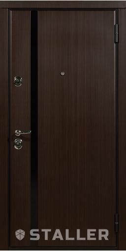 Входная дверь Модерно 860 R Сталлер   - Апис плюс