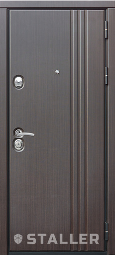 Входная дверь Лайн 860 R Сталлер   - Апис плюс