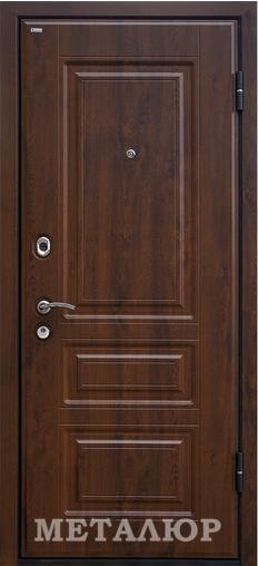 Входная дверь  М9 (1U) Аляска 860 R (глазок) серия М    - Апис плюс