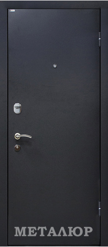 Входная дверь  М25 Венге 860 R (глазок) серия М    - Апис плюс