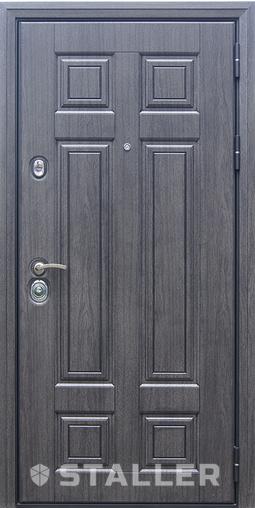 Входная дверь Виано 860 R Сталлер   - Апис плюс