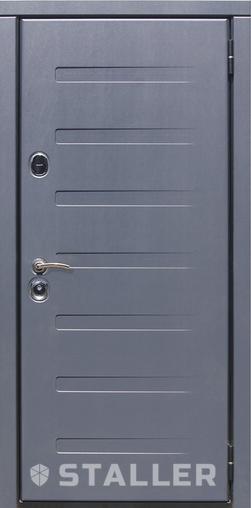 Входная дверь Пиано 860 R Сталлер   - Апис плюс