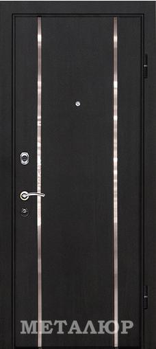Входная дверь  М8 (71U) белое Аляска 860 R (глазок) серия М    - Апис плюс