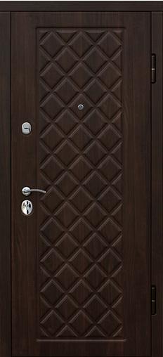 Входная дверь Kamelot Вишня темная 860 R Гарда    - Апис плюс