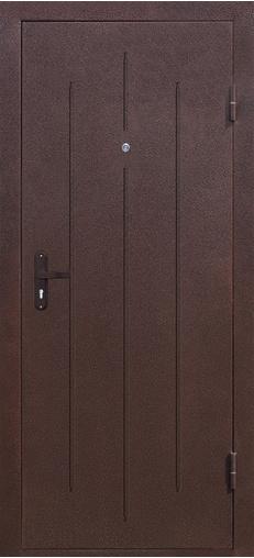 Входная дверь Стройгост 5-1 Золотистый дуб 880 R Йошкар    - Апис плюс
