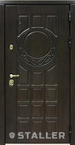 Входная дверь Аплот 960 R Сталлер   - Апис плюс
