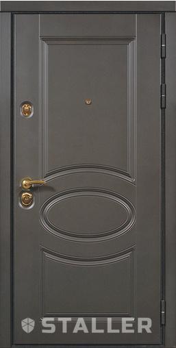 Входная дверь Венеция мет. 860 R Сталлер   - Апис плюс