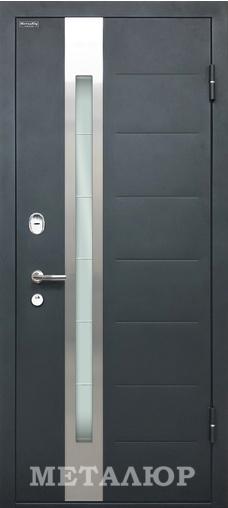 Входная дверь  М36 Серый металлик Антрацит 860 R НЕ СТАВИТЬ серия М    - Апис плюс