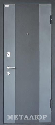 Входная дверь  М27(20U) Аляска 860 R (глазок) серия М    - Апис плюс
