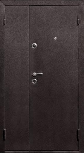 Входная дверь Йошкар (двупольная) Венге 1200 R Йошкар    - Апис плюс