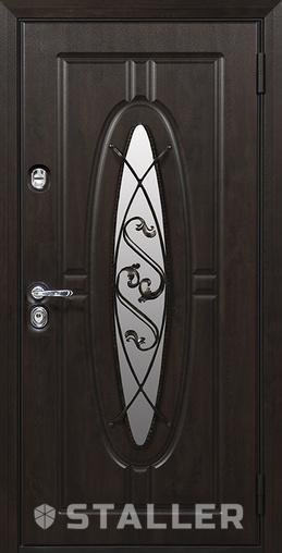 Входная дверь Монарх 880 R Сталлер   - Апис плюс