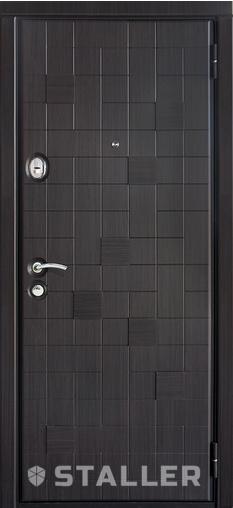 Входная дверь Метро 860 R Сталлер   - Апис плюс