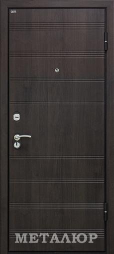 Входная дверь  М1 Венге 860 R (глазок) серия М    - Апис плюс