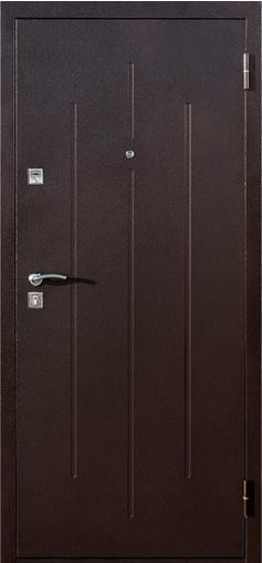 Входная дверь Стройгост 7-2 Итальянский орех 860 R Йошкар    - Апис плюс