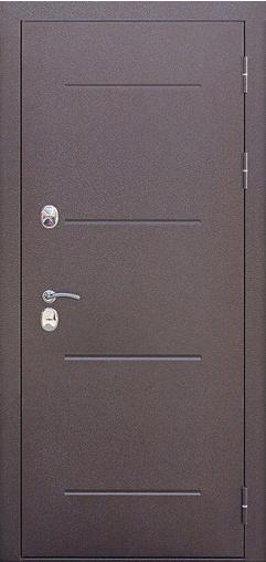 Входная дверь ISOTERMA Венге 860 R Гарда    - Апис плюс