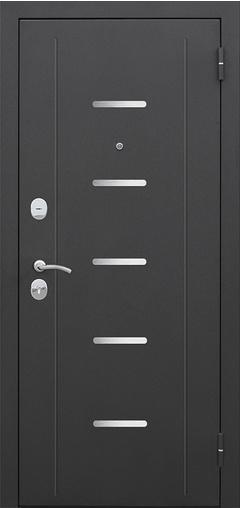 Входная дверь Гарда муар Царга Лазер Венге мелинга 860 R Гарда    - Апис плюс