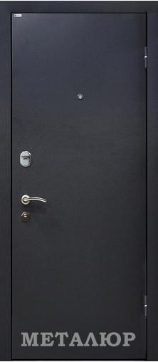 Входная дверь  М24 Графит 860 R (глазок) серия М    - Апис плюс